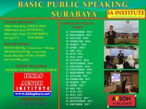 Public Speaking Surabaya Ilyas Afsoh 0858.6507.9257