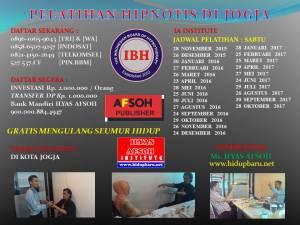 Jadwal Pelatihan Hipnotis di Kota Jogja