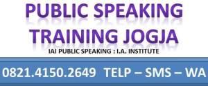 PELATIHAN PUBLIC SPEAKING JOGJA 0821.4150.2649