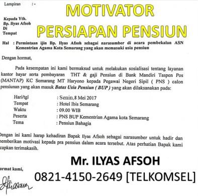 Pelatihan Persiapan Pensiun 0821-4150-2649 [TELKOMSEL]