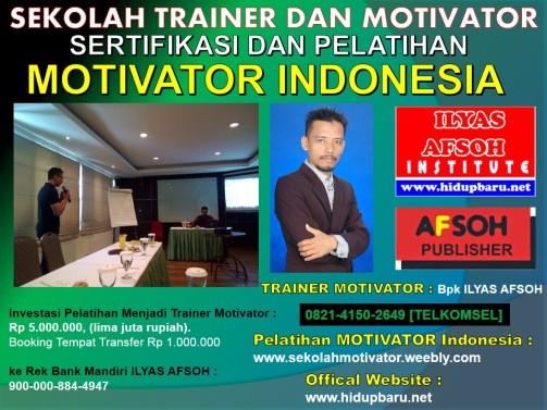 Pelatihan dan Sertifikasi Motivator Surabaya