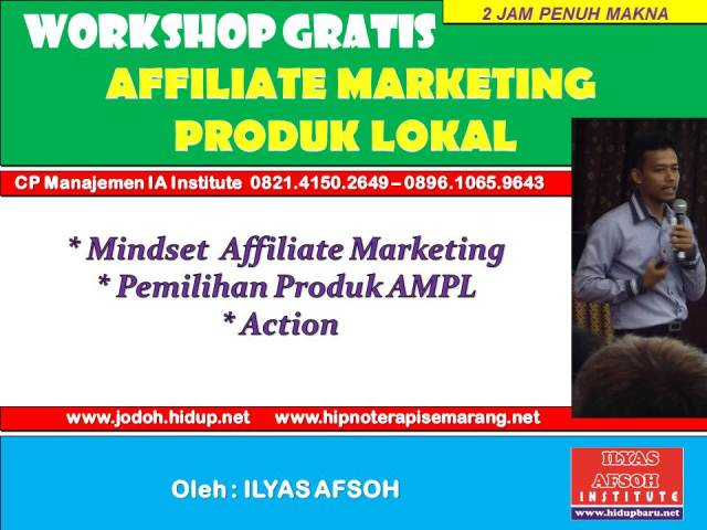 Menjadi Affiliate Marketing Lokal