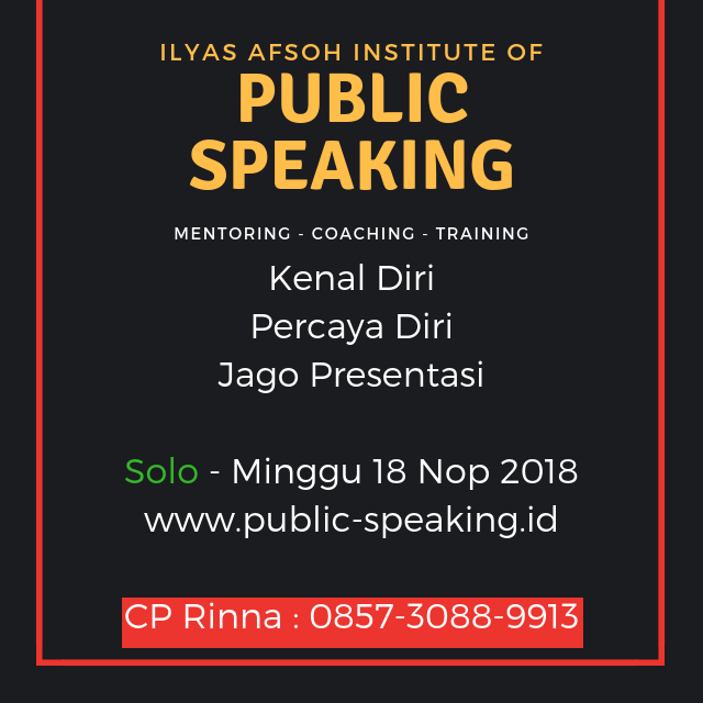 solo public speaking 0821-4150-2649