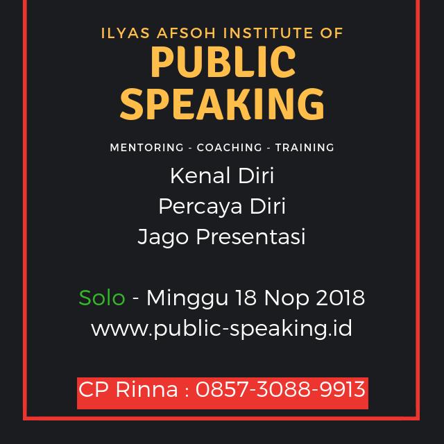 solo public speaking 0821-4150-2649