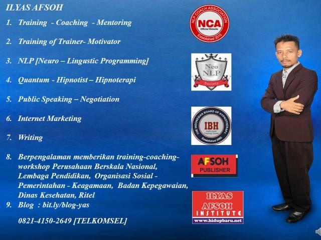 0821-4150-2649 Coach Ilyas Asoh ST MT NNLP Cht CI